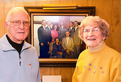 Clements' Children Honor Their Father And Mother Through The Drexel Fund